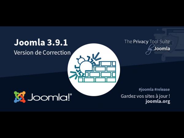2efd0b25fc Joomla 3.9.1 est disponible